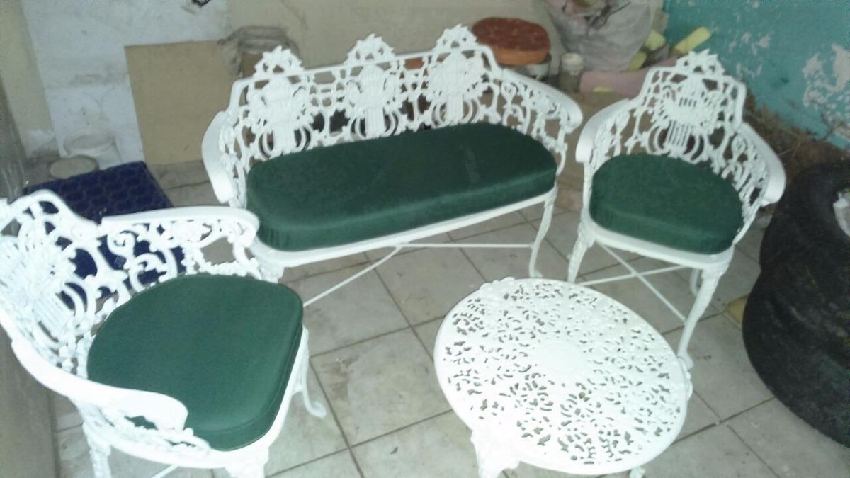 Muebles Para Jardín, Terraza O Piscina En Aluminio Fundido - Bs ...