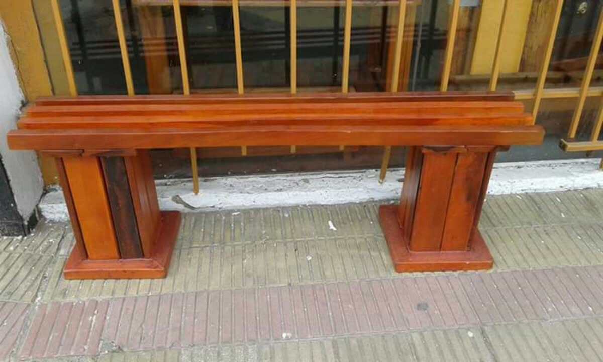 Muebles Para Jardin/exterior/madera Dura-maceteros Lustrados ...