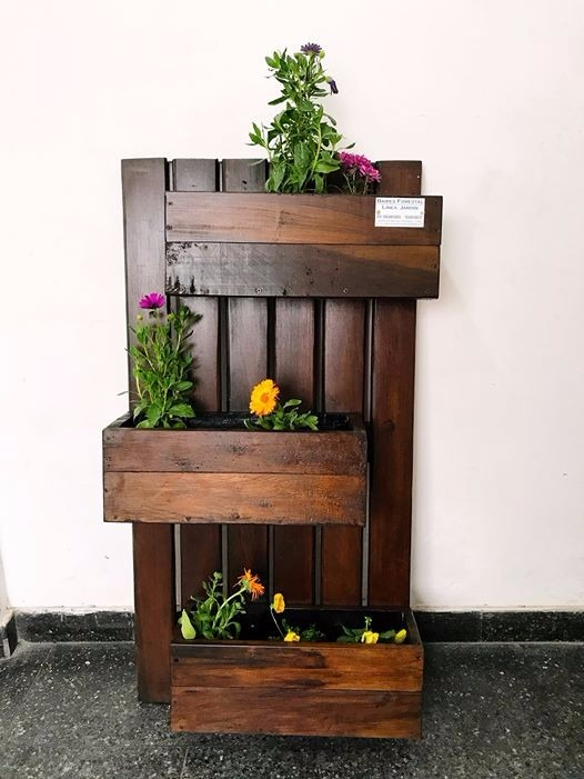 Moderno Muebles De Jardín De Madera Dura Embellecimiento - Muebles ...