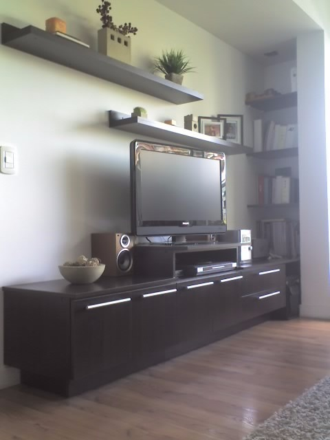 Muebles Para Living Comedor Sala De Estar A Medida Moduideas ...