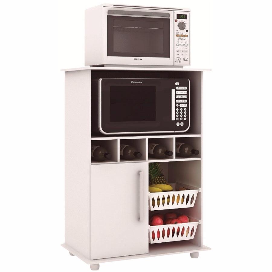 Muebles para microondas frutero alacena kit de cocina for Mesa frutero cocina