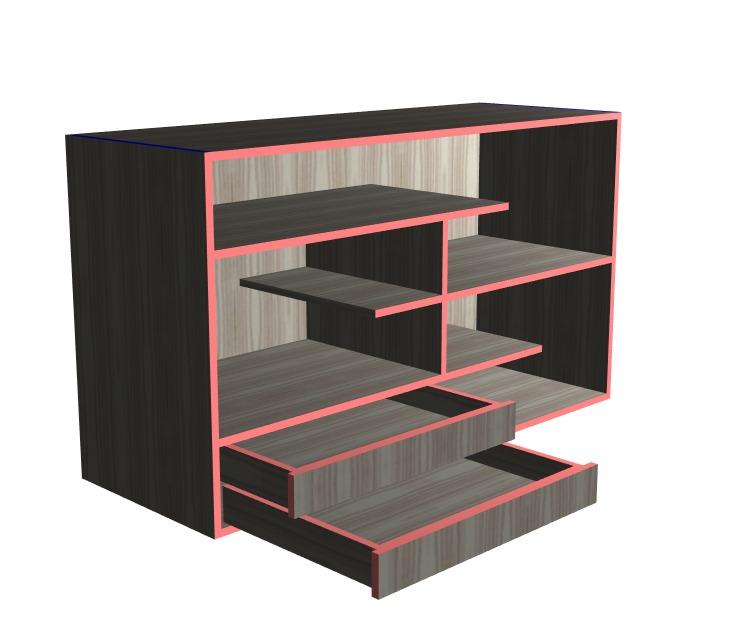 Muebles para sala tv u s 200 00 en mercado libre for Muebles de tv minimalistas
