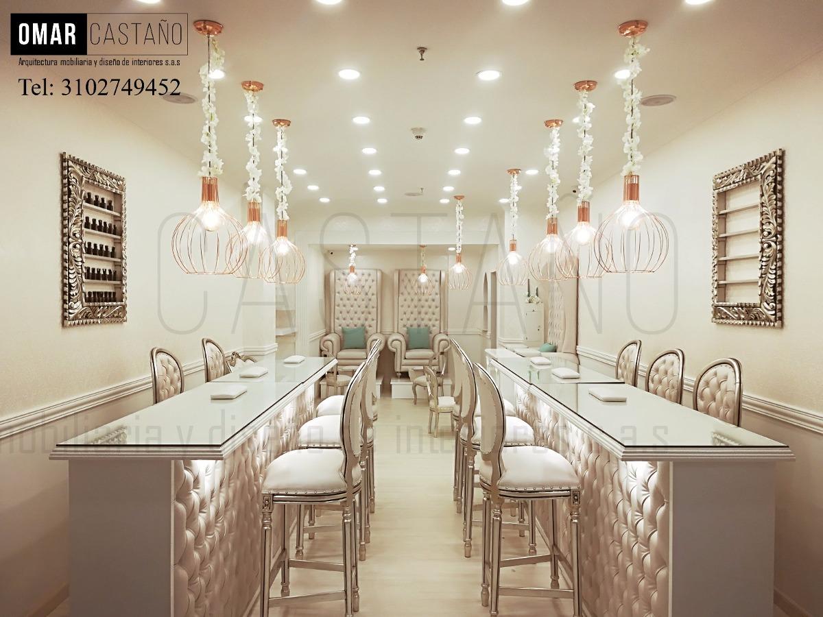 Hermosa Elegante Spa De Uñas Motivo - Ideas de Diseño de Arte de ...
