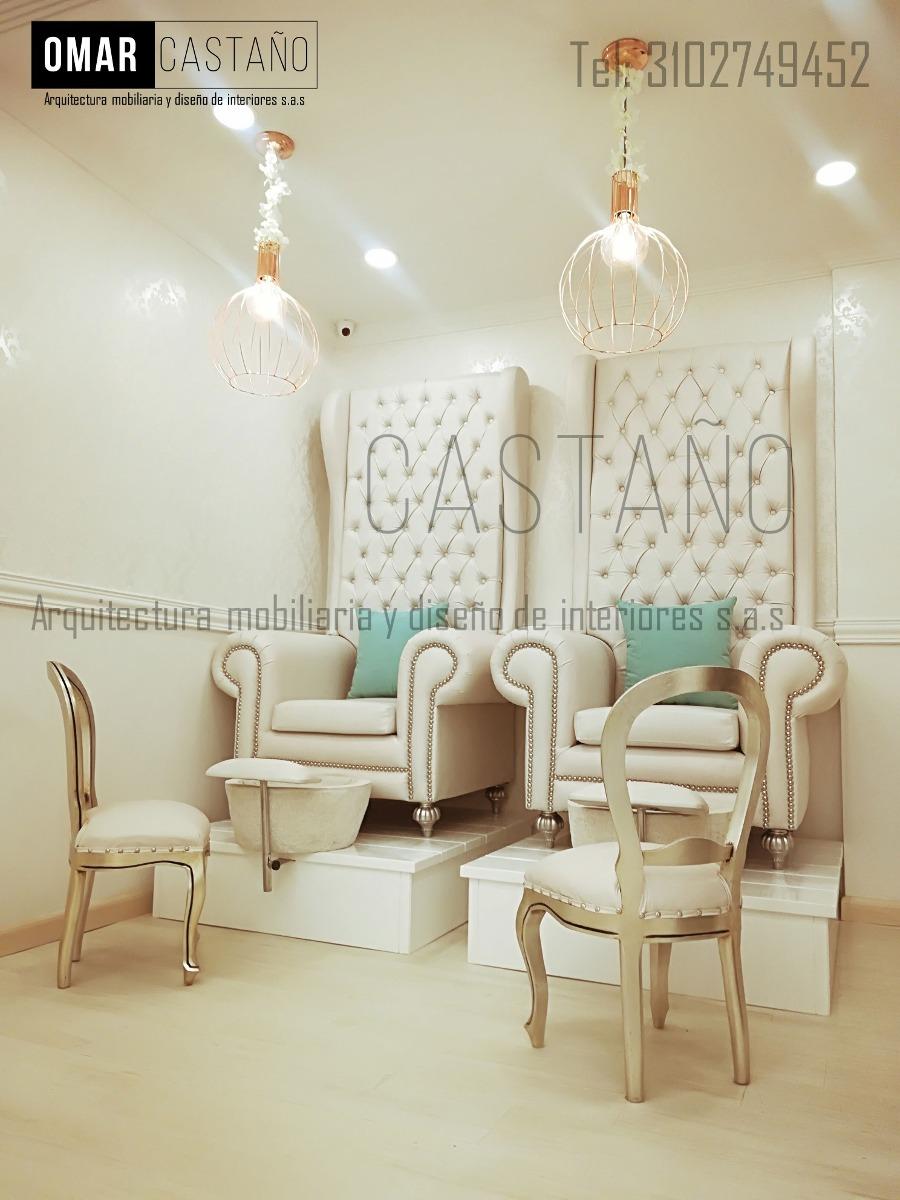 Muebles para spa de u as y salas de belleza en mercado libre for Precio de muebles para sala