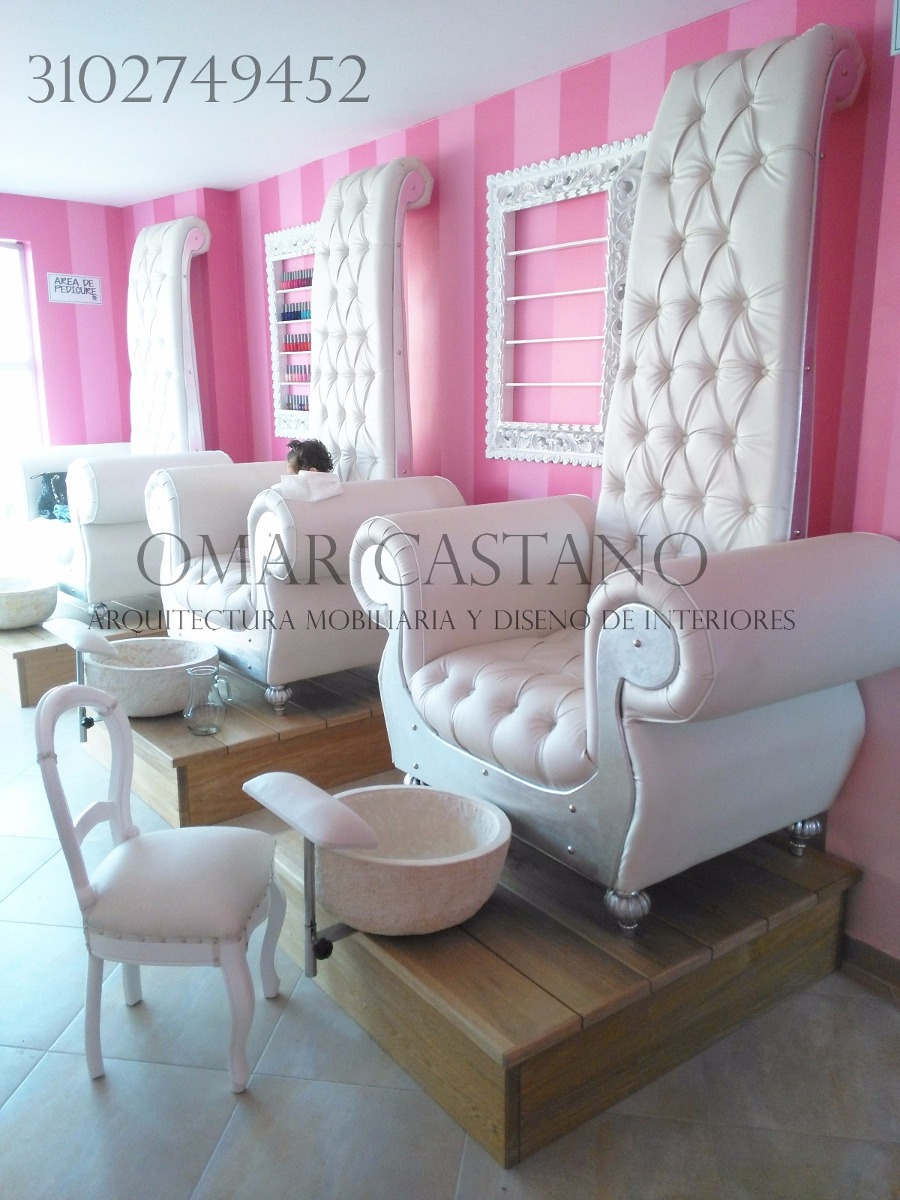 muebles para spa de u as y salas de belleza en mercado libre