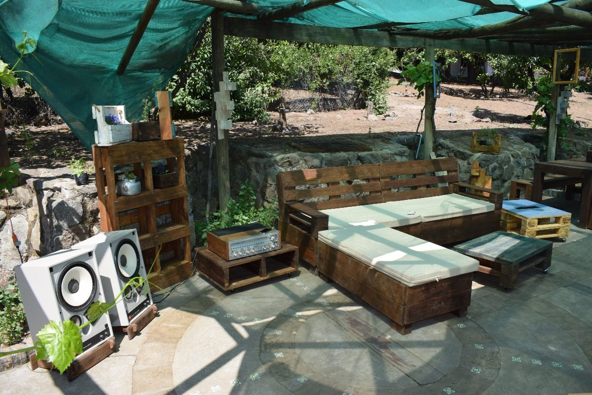 Para Terrazas Baratos Great Terraza Chill Out Con Palets Fcil Y  # Muebles Terraza Baratos
