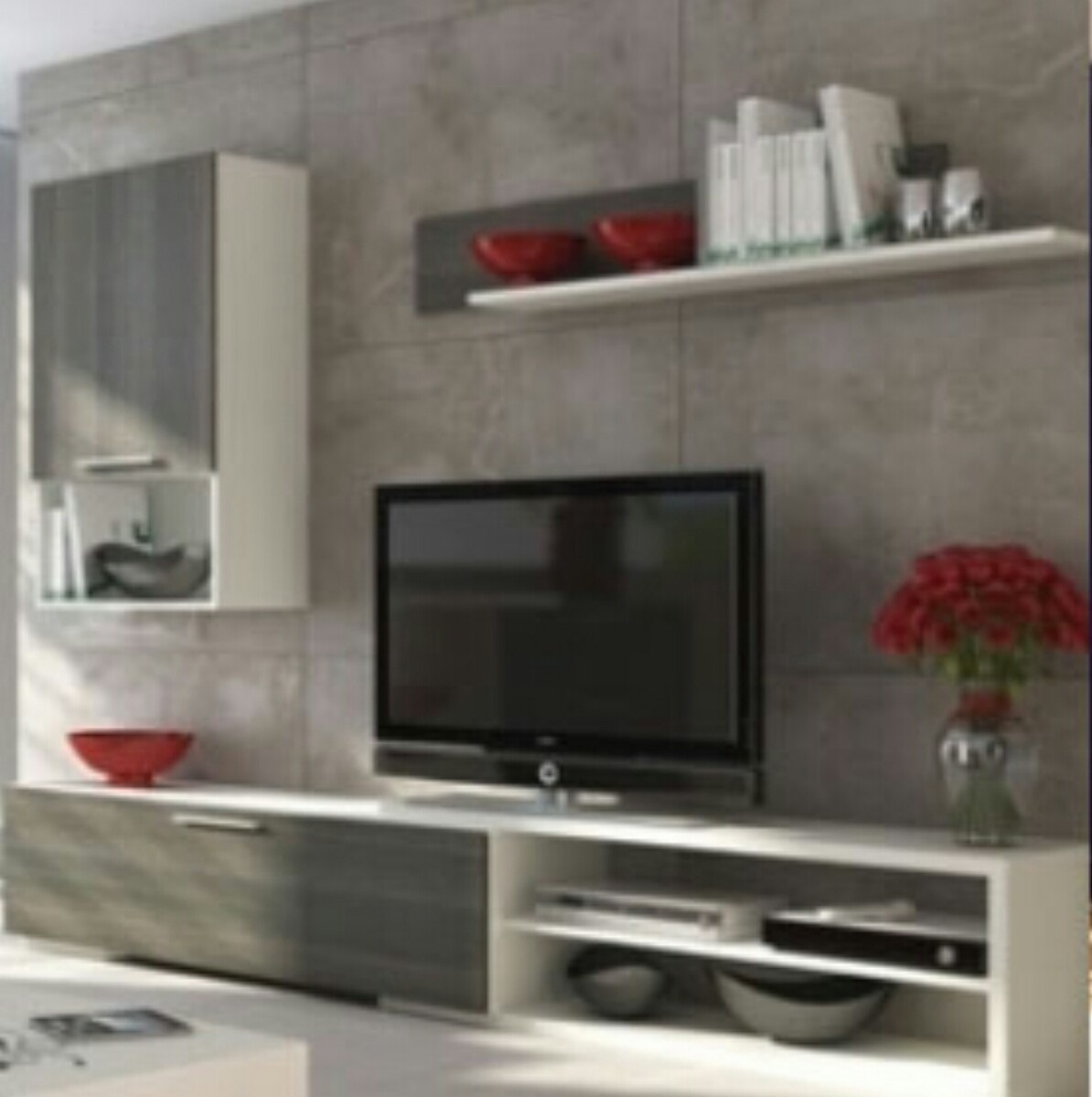 Muebles para tv u s 550 00 en mercado libre for Diseno de muebles quito