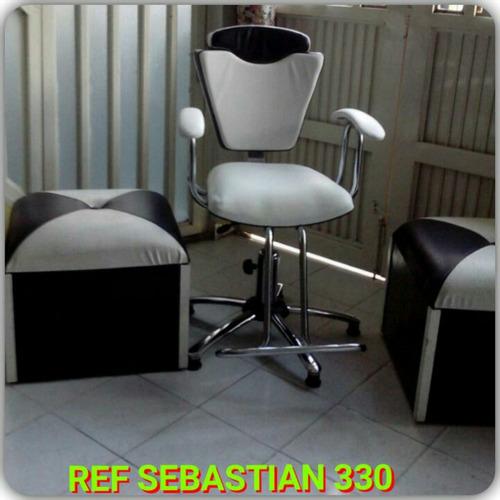 muebles peluqueria salon de belleza spa sillas de corte neum