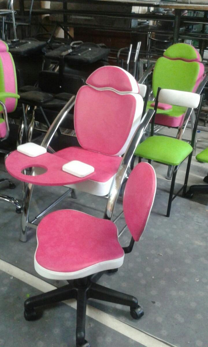 Muebles peluqueria spa de u as manicure pedicure y for Sillas para manicure y pedicure