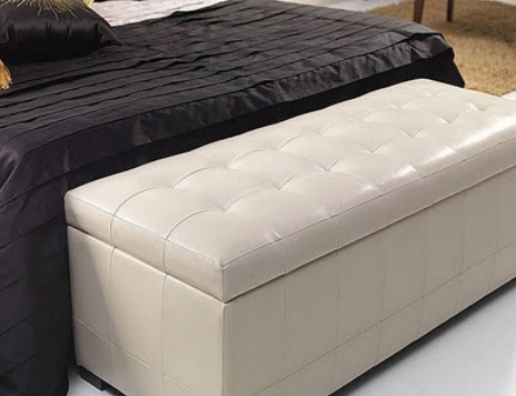 muebles puff cuadrado, rectangula y redondo semicuero y tela