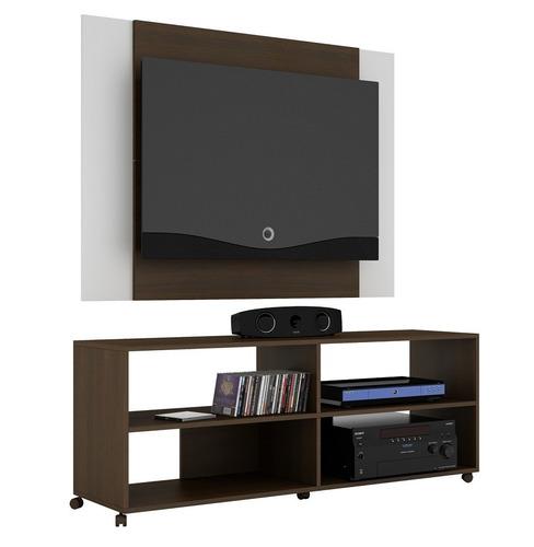 muebles rack panel blanco o tabaco blanco mobelstore