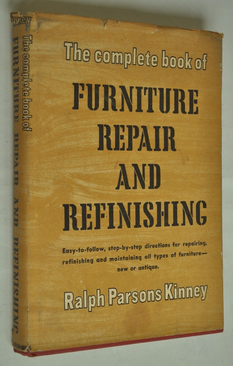 Muebles Reparacion Restauracion Kinney Antiguo Manual Ingles  # Muebles Fiction