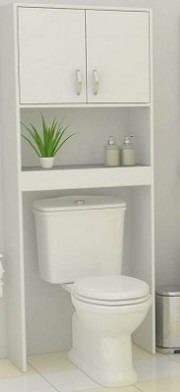muebles  (repisas)  sobre baño de melamina