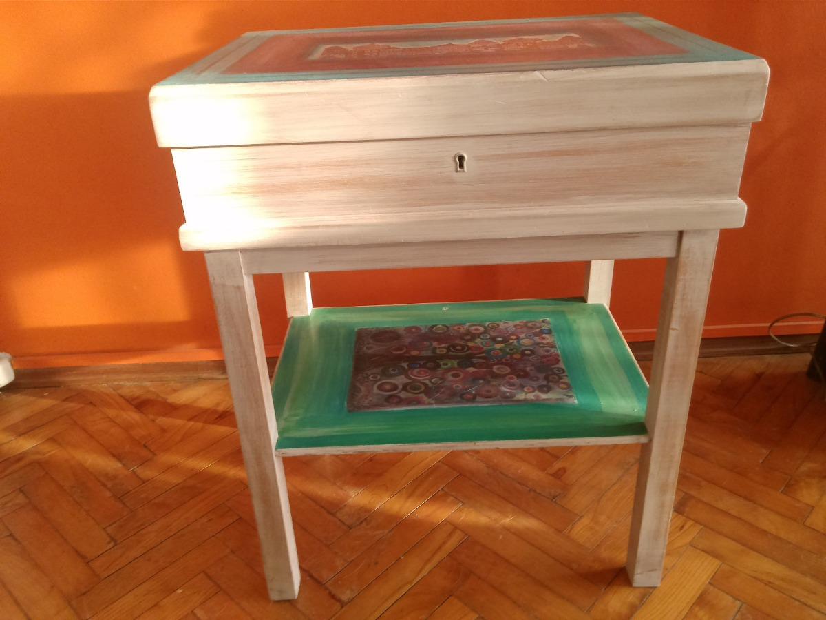 Muebles Restaurados Vintage 2 300 00 En Mercado Libre # Muebles Restaurados