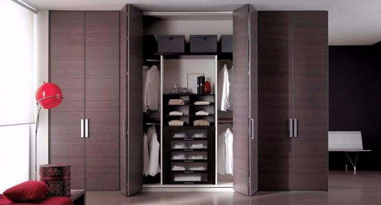 Muebles roperos closets de melamine s 999 00 en mercado libre - Puertas plegables armarios ...
