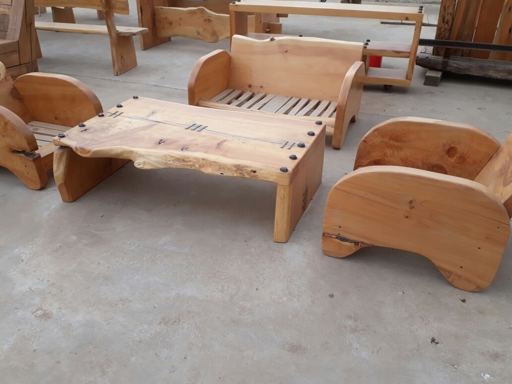 Muebles rusticos en mercado libre for Diseno de muebles rusticos de madera