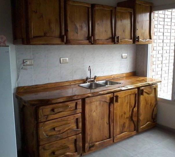 Muebles Rústicos , Amoblamientos De Cocina A Medida . - $ 25.500,00 ...