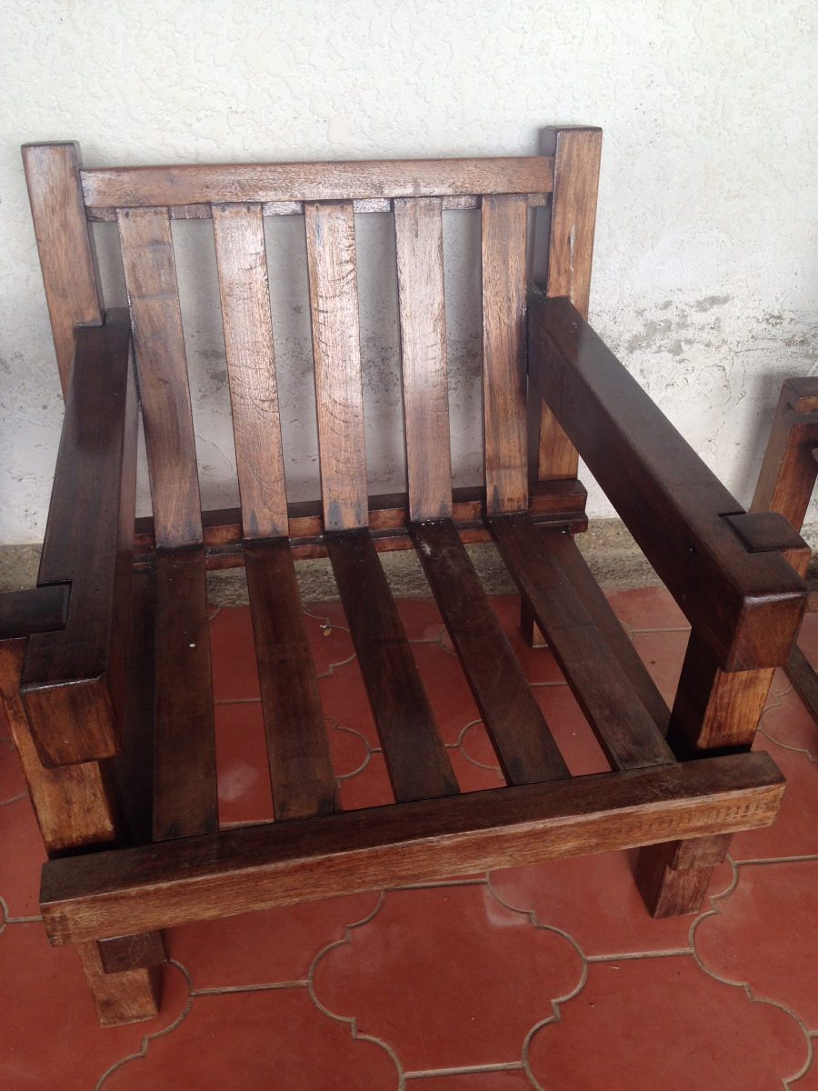 Muebles r sticos de madera bs en mercado libre for Muebles rusticos de madera