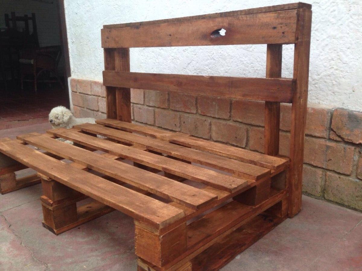 Muebles con palets comprar encontr banco mesa tv de palet - Muebles rusticos barcelona ...