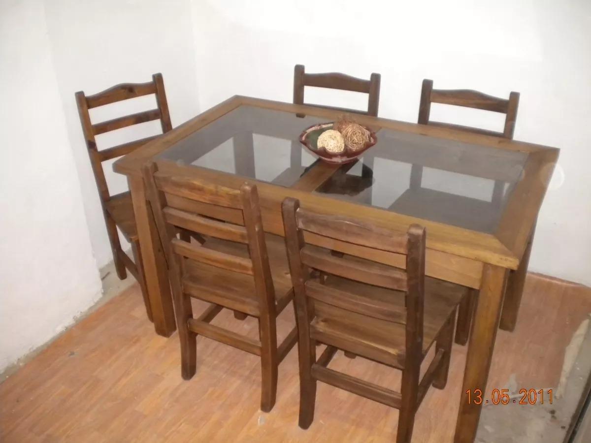 Muebles rusticos en tigre mesa xx cocina comedor for Muebles modernos para cocina comedor