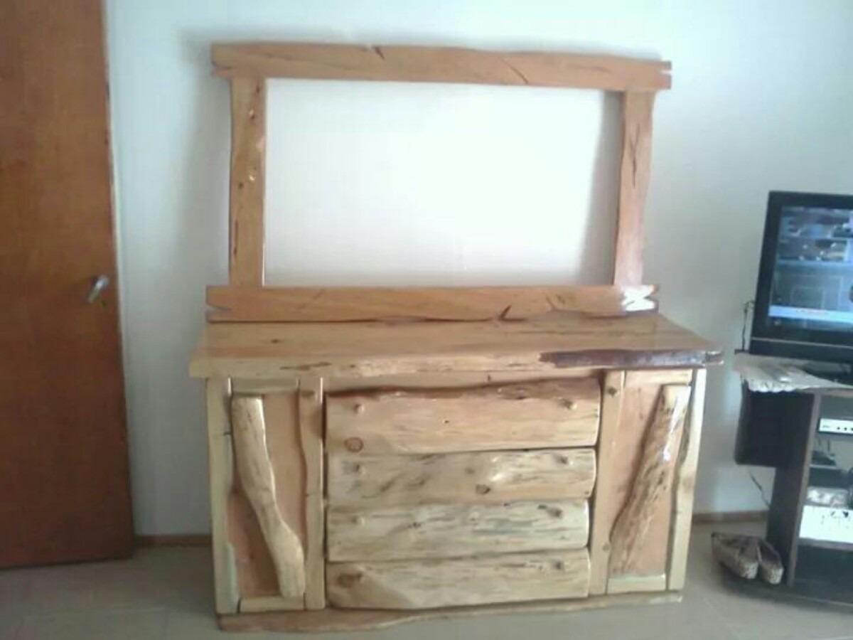 Muebles Rusticos Estilo Tronco En Cipres Cargando Zoom.