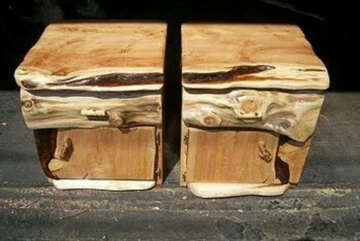 Muebles Rusticos Estilo Tronco En Cipres 250000 En Mercado Libre - Fotos-muebles-rusticos
