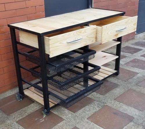 muebles rústicos - mesa cocina o finca