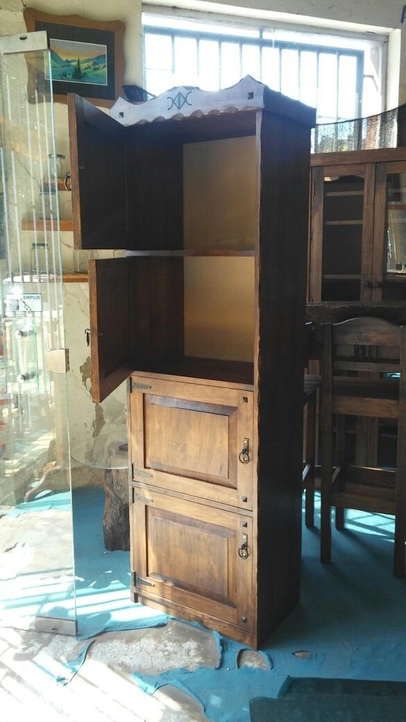 Muebles rusticos mueble 4 puertas multifuncion for Mueble 4 puertas