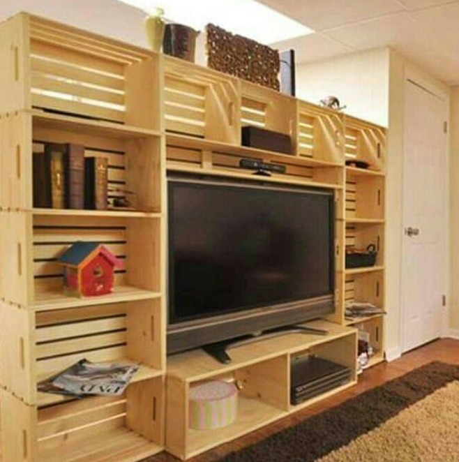 Muebles rusticos y terminados en estibas en for Muebles rusticos