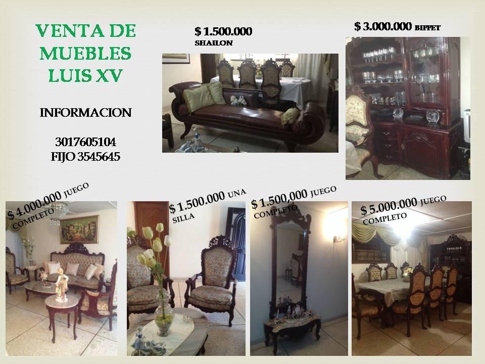 Muebles Sala-comedor Y Otros Tallados - $ 1.500.000 en Mercado Libre