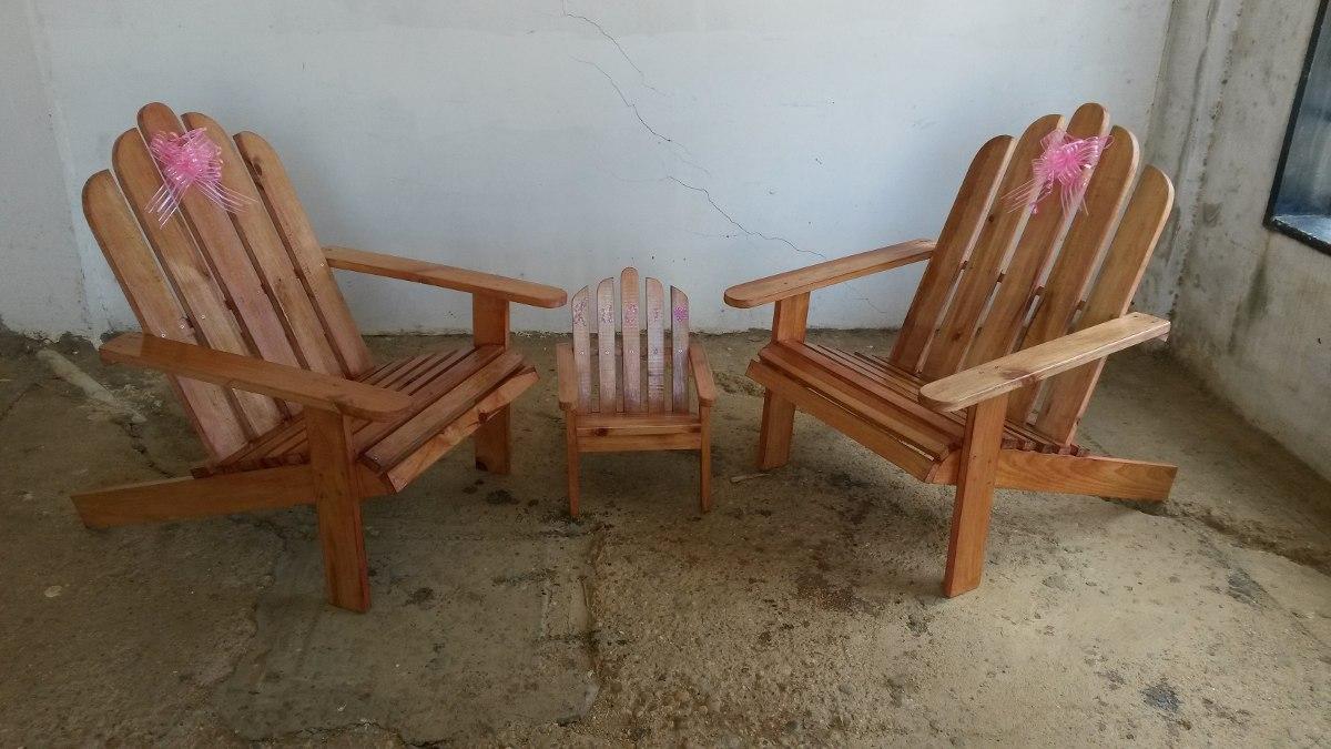 Muebles Sillas De Madera Adirondack O De Paletas Para Niños - Bs ...