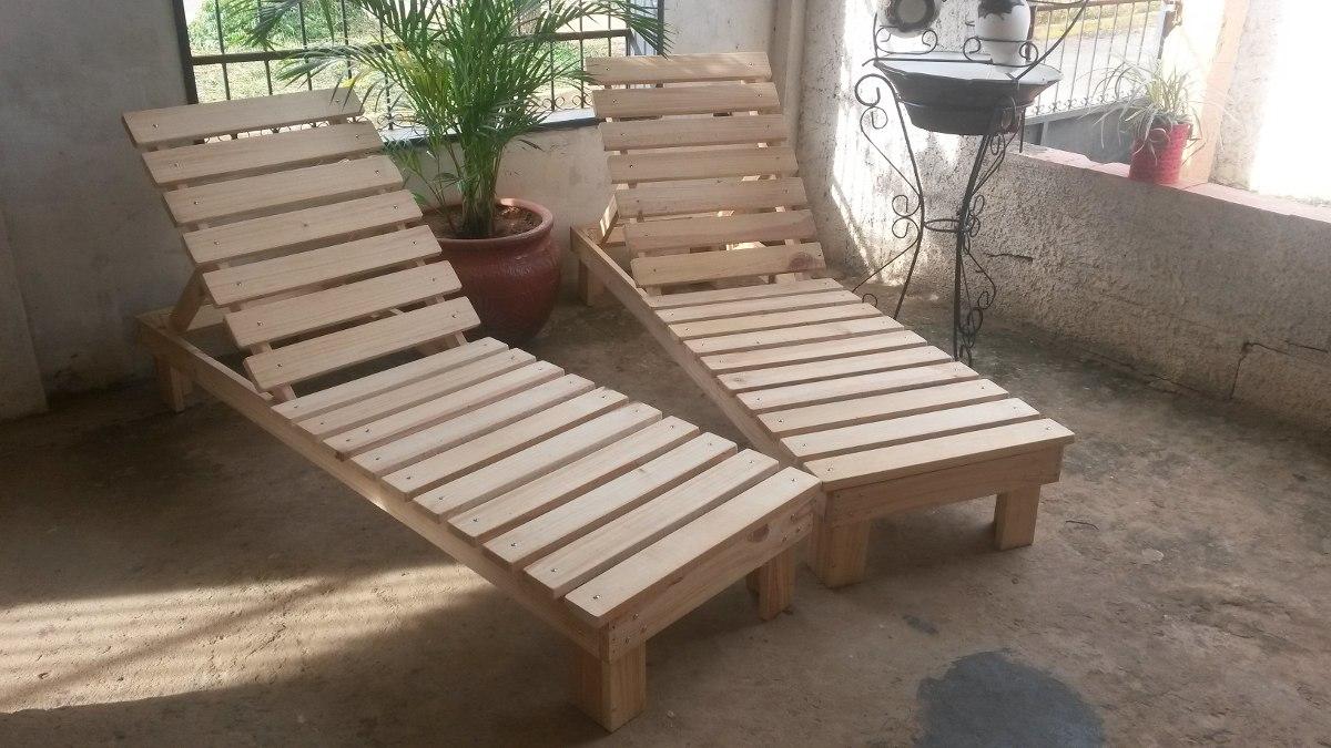 Muebles sillas de madera tumbonas o paletas ni os y for Paletas madera