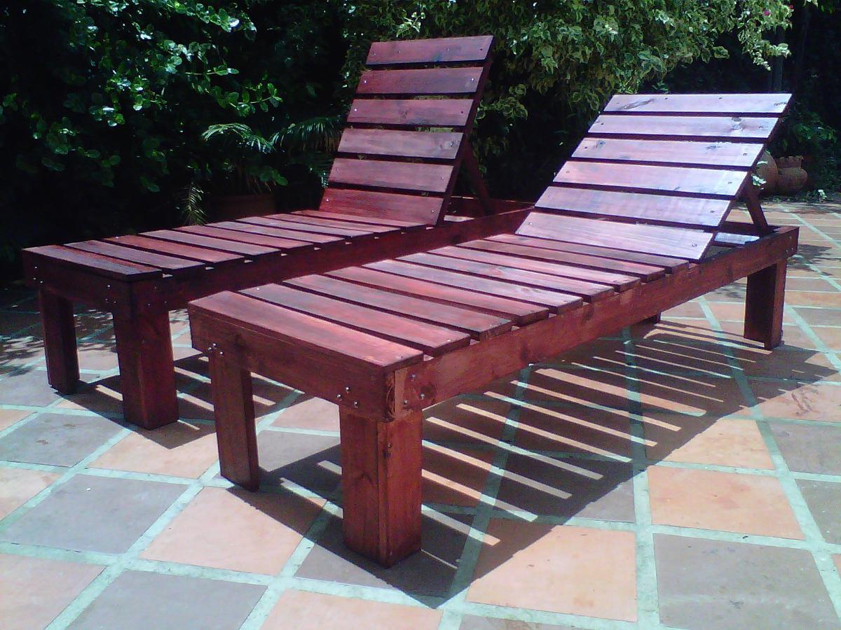 Muebles sillas de madera tumbonas o paletas ni os y for Muebles de madera para ninos