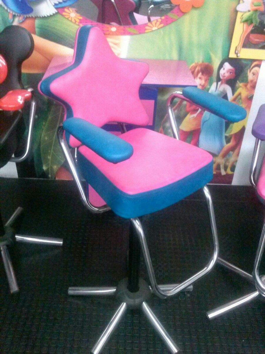 Muebles peluqueria salon belleza sillas de corte para for Sillas para salon