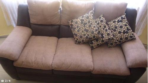 muebles sillones 3-2-1 sillon reclinable material cuero