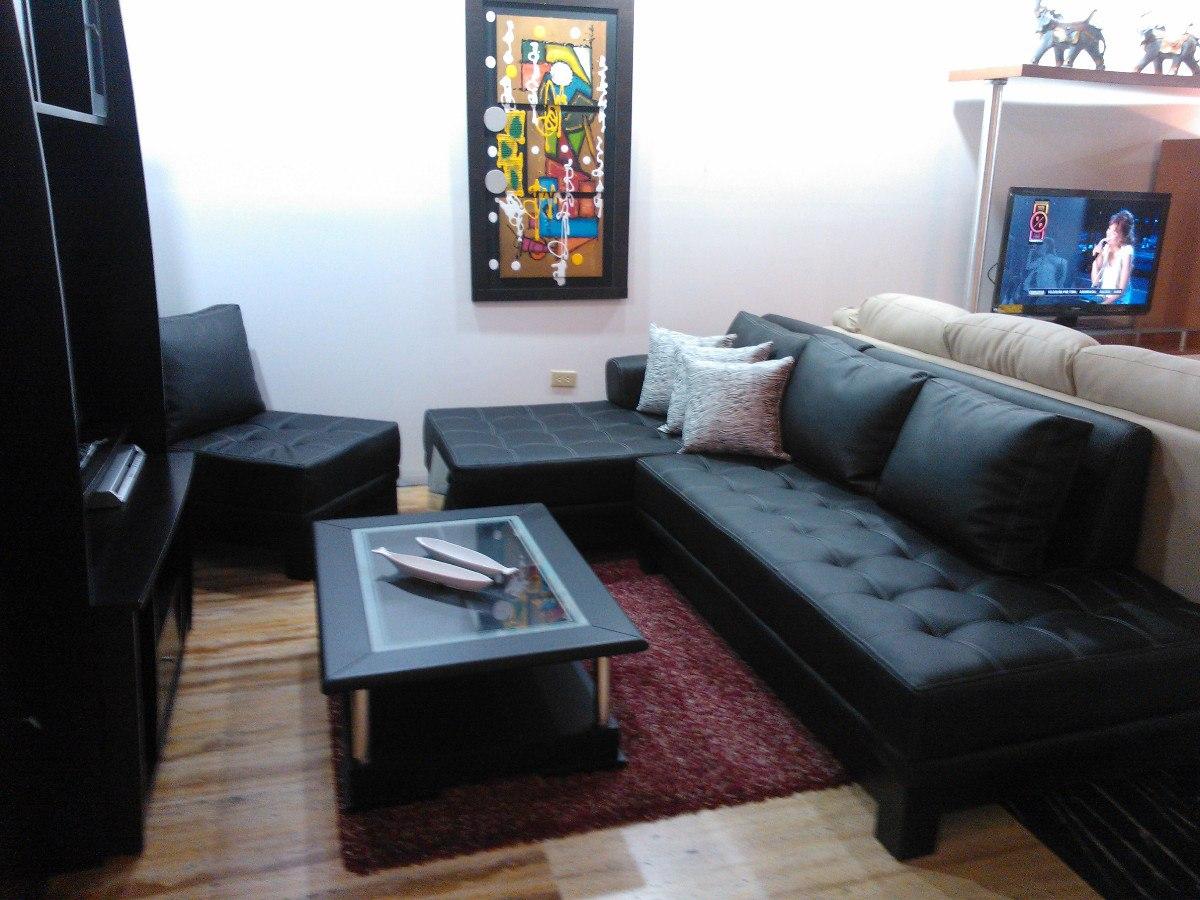 Muebles Sof Modular Esquinero Chaise Longue Tienda Fisica Bs  # Muebles Esquineros Para Sala