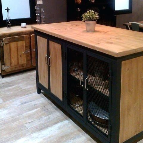 Muebles Tv Cocina Industrial