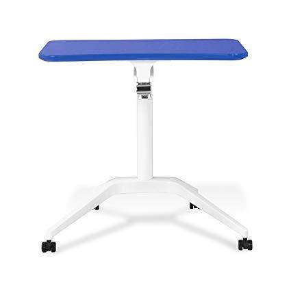 muebles únicos 201-blue mesa de trabajo portátil de altur