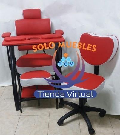 muebles,sillas,pedicure,manicure,lavacabezas para peluqueria