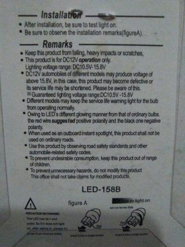 muelas led 158 - 1 led luz verde