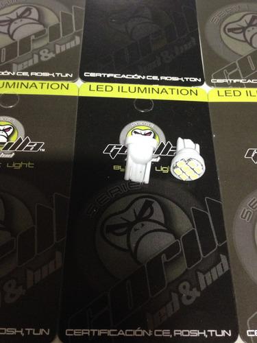 muelita t10 de 8 led smd alto brillo blanco precio x par