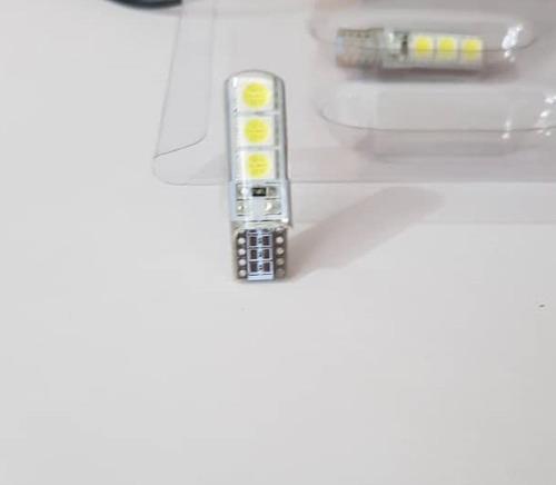 muelitas t10 led blanco (par)