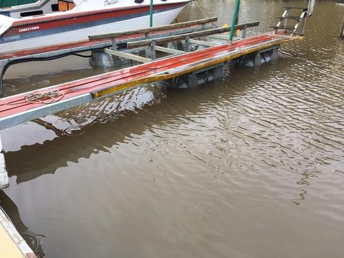 muelle flotante ideal para isla ó marina;3000kg marina uno-