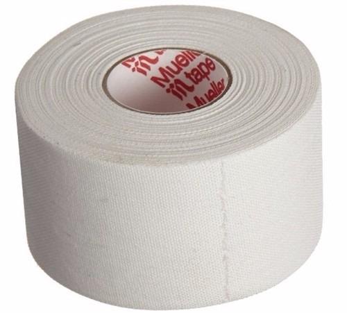Mueller cinta m tape caja 32 rollo x 14m tela for Cinta de tela adhesiva