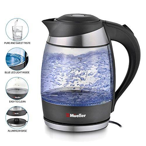 mueller ultra cordless hervidor de agua eléctrico té de e