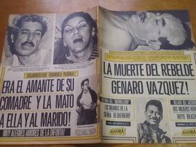 Revista Alarma Portada De Brujeria Revistas En Mercado Libre México