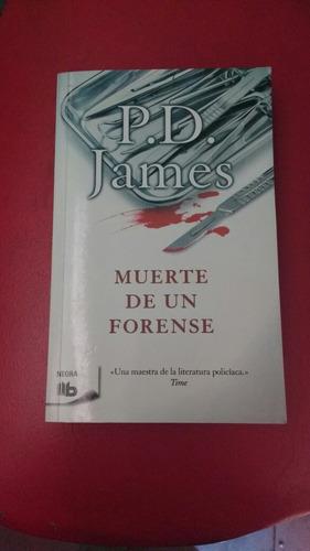 muerte de un forense p. d. james