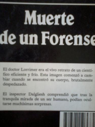 muerte de un forense  - p.d. james - 1989