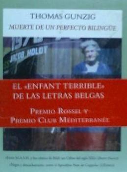 muerte de un perfecto bilingue(libro )