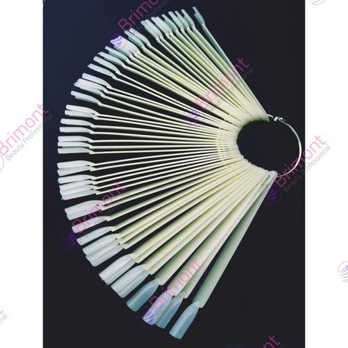 muestrarios de llavero x 50 para uñas brimont1